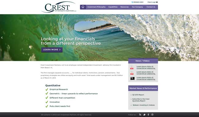 Crest-Investment-Partners-Homepage